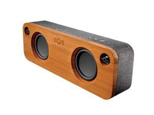House of Marley EMJA006MI Get Together Portable Bluetooth Speaker - Midnight (Bamboo/Gray)