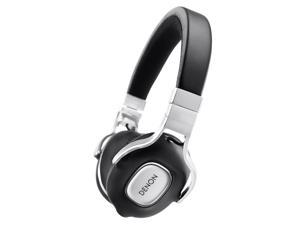 Denon AH-MM300 Music Maniac High Quality On-Ear Headphones with Apple Remote (Black)
