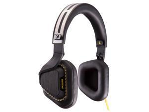 Kicker Vapor Headphones With In-Line Mic (Black)