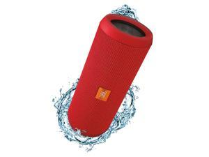 JBL Flip 3 Portable Wireless Bluetooth Speaker (Red)