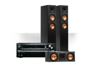 Onkyo TX-NR646 7.2-Channel Network AV Receiver with Klipsch RP-250F 3.0 Reference Premiere Floorstanding Speaker Package