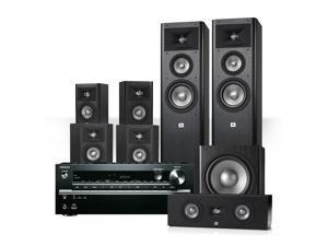 Onkyo TX-NR646 7.2-Channel Network AV Receiver with JBL Studio 270 7.1 Home Theater Speaker System Package