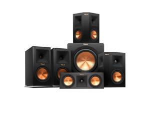 Klipsch 5.1 RP-160M Reference Premiere Speaker Package with R-110 SW Subwoofer (Ebony)