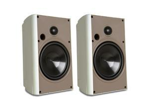 "Proficient Audio AW650 6.50"" 2-way Indoor/Outdoor Speaker - Pair (White)"