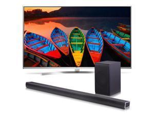 "LG 65UH8500 65"" Class UH8500 Series 4K Super UHD Smart TV with SH7B 360W 4.1 Channel Soundbar"