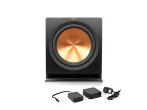 Klipsch R-115SW Powered Subwoofer with Free WA-2 Wireless Subwoofer Kit