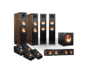 Klipsch RP-280 5.1.4 Dolby Atmos System (Walnut/Black)