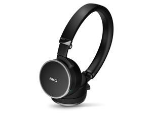 AKG N60 NC Noise-Canceling On-Ear Headphones (Black)