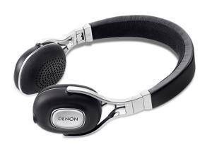 Denon AH-MM200 Music Maniac On-Ear Headphones with Apple Remote (Black)
