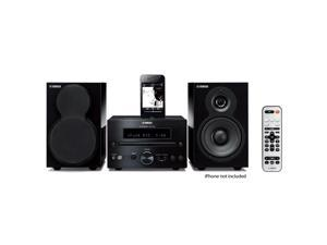 Yamaha MCR-332 iPod Supported Mini Hi-Fi System (Piano Black)