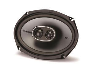 "Kicker 41KSC6934 6x9"" 3-Way Coaxial Speaker - Pair (Black)"