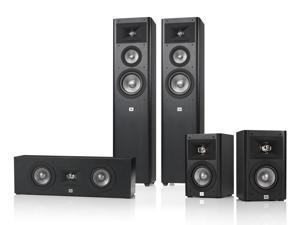 JBL Studio 270 5.0 Home Theater Speaker System Package (Black)