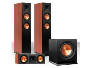"""Klipsch RP-250F Reference Premiere Floorstanding Speaker Package with RP-250C Center Channel Speaker and R110 10"""" Subwoo"""