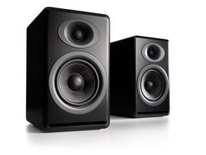 Audioengine P4 Premium Passive Bookshelf Speaker - Pair (Black)