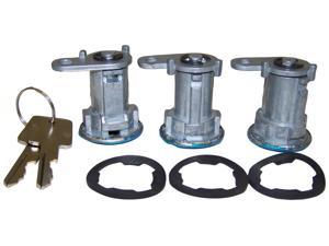 Crown Automotive 8122874K3 Door Lock Cylinder Kit