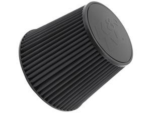K&N Filters RU-5177HBK Universal Air Cleaner Assembly&#59; Round Tapered&#59; OD-6 5/8 in./9 in.&#59; Flange