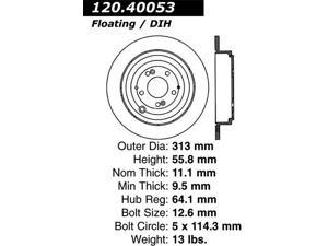 Centric-Power Slot Sportstop Drill Rotor