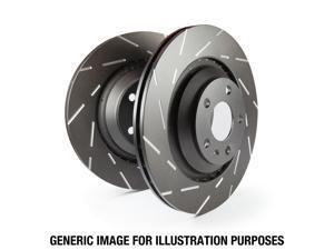 EBC Brakes USR7457 EBC USR Series Sport Slotted Rotor