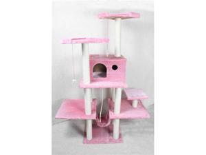 """70"""" Cat Tree Condo Furniture Scratch Post Pet House 11P"""