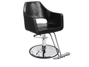 New Black Modern Hydraulic Barber Chair Styling Salon Beauty Spa Supplier 79