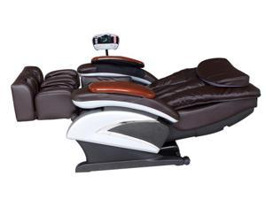 BestMassage BM-EC06C Electric Full Body Shiatsu Massage Chair Recliner with Stretched Foot Rest - BM-EC06C Brown