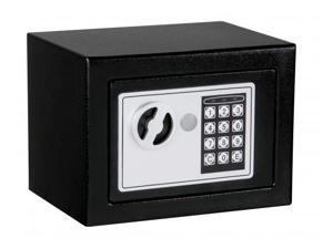 Digital Electronic Jewelry/ Watch Safe Box with Keypad Lock for Home/Office/Hotel - XSmall SF-1717-Black