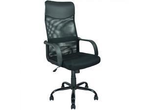 BestChair OC-2925 Black Modern Fabric Mesh High Back Office Task Computer Desk Chair