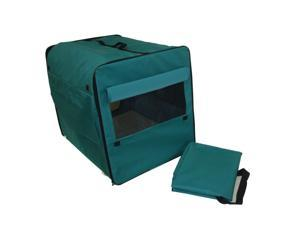 Dog Cat Pet Bed House Soft Carrier Crate Cage w/Case XT