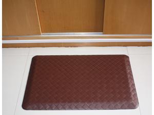 20x30 Brown Modern Indoor Cushion Kitchen Rug Anti-Fatigue Floor Mat