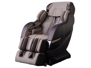 New Grey Full Body Zero Gravity Shiatsu MassageChair Recliner 3D Massager Heat