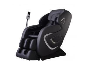 New Black Full Body Zero Gravity Shiatsu MassageChair Recliner 3D MassagerHeat
