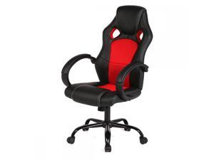 New Red High Back Racing Car Style Bucket Seat Office Desk Chair Gaming Chair R39