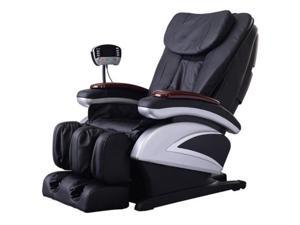 BestMassage BM-EC06C Electric Full Body Shiatsu Massage Chair Recliner with Stretched Foot Rest - BM-EC06C Black