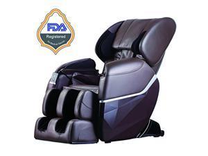 BestMassage EC77 Electric Full Body Shiatsu Massage Chair Recliner Zero Gravity w/Heat - Brown