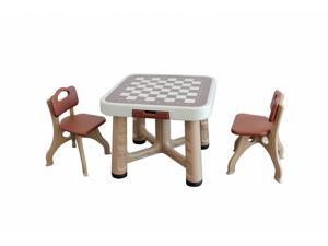 New Children Table With Two Chairs Set Desk Durable Health and safe PE S25