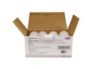 FDW 60W Equivalent SlimStyle A19 Soft White 2700K LED Light Bulb 12-Pack - A1912