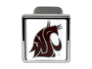 "Washington State Cougars Football Logo Metal Hitch Cover 2"" Hitch Receiver"