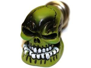Green Skull Cigarette Lighter Plug Cover Universal Replacement
