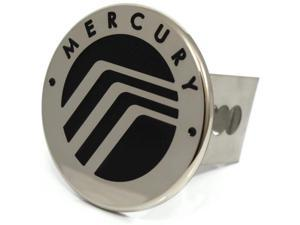 "Black Mercury Logo Hitch Cover 2"" Hitch Receivers Cover Plug Stainless Steel"