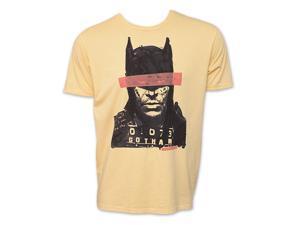 Batman Mugshot DC C*mics Vintage Junk Food Brand T-Shirt