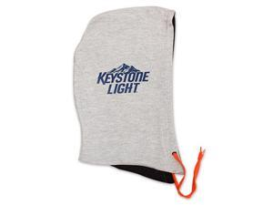 Keystone Light Hoodie Hat - Gray