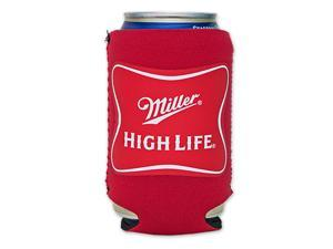 Miller High Life Cooler Can Koozie - Red
