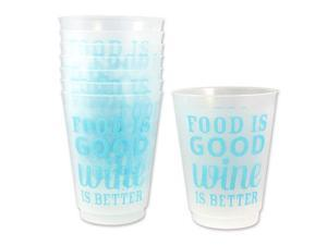 Wine is Better 16 oz. Cups 8-Pack