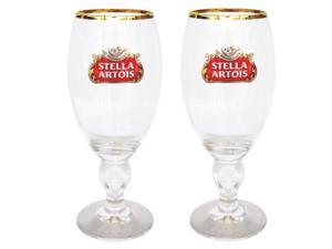 Stella Artois Chalice Glasses (Set of 2)