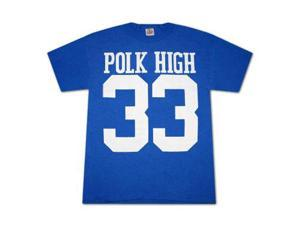 Married With Children Polk High 33 Blue Graphic Tee Shirt