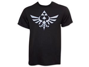 Nintendo Black Men's Zelda Triforce T-Shirt