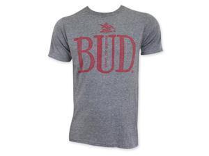Budweiser Men's Gray Bud T-Shirt