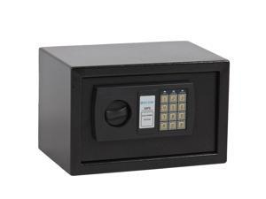 0.3CF Electronic Digital Lock Keypad Safe Box Home Security Gun Cash Jewel Black