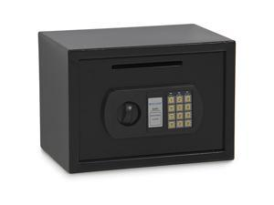 0.8CF Digital Home Hotel Depository Security Drop Box Safe for Cash Jewelry Gun