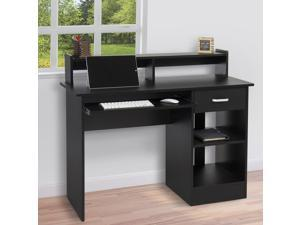 Computer Desk Home Laptop Table College Home Office Furniture Work Station Blk